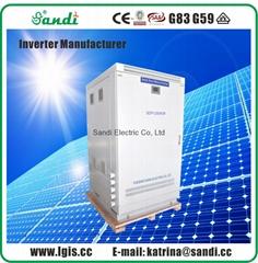 200KW太陽能離網逆變器工頻隔離變壓器型