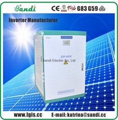 40KW Solar stand-alone inverters with Variable Frequency Start