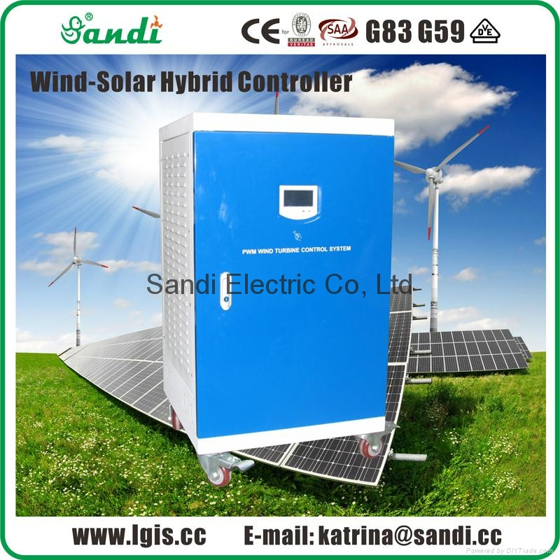 PWM Wind generator and solar battery charge controller with dump load