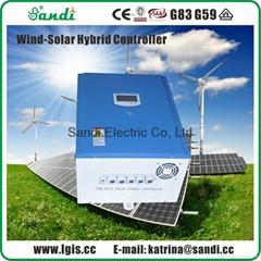 6.5KW風光互補充電控制器帶卸荷器