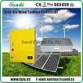 grid tie wind turbine controller 10KW