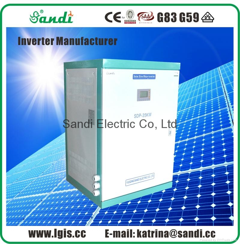 35KW Solar Off Grid Power Inverter 250/500VAC split-phase inverter
