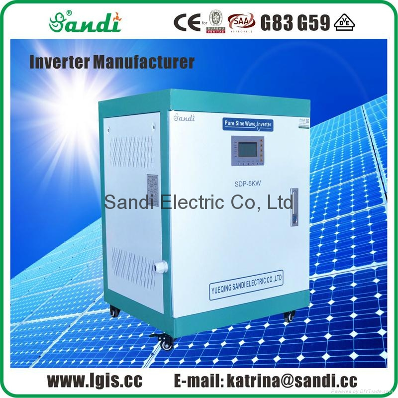 5000W PV Off Grid Inverter 96V / 192V / 240VDC