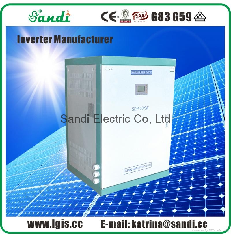 Low Frequency Inverter suitable for three phase motor load