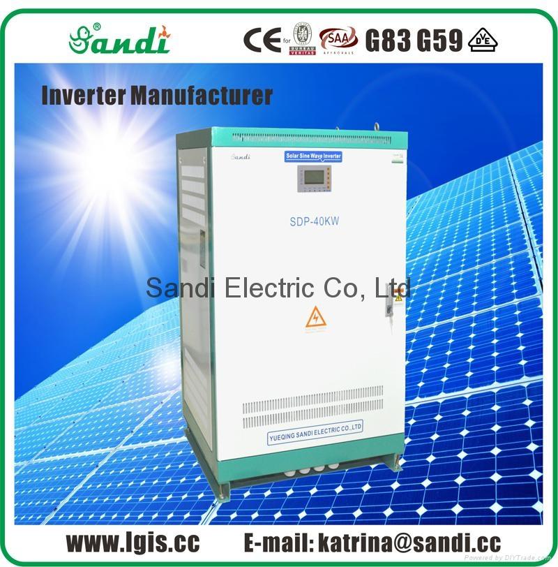 40KW Sine Wave Solar Inverter-Three phase 400VAC