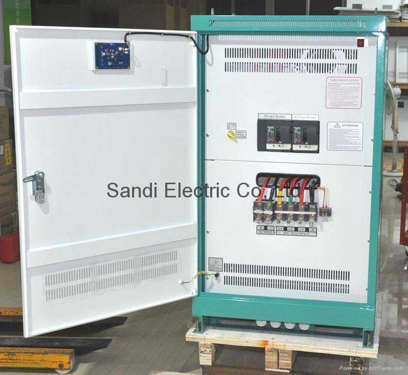 三迪電力純正弦波逆變器60KW 480V
