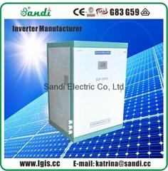 SANDI factory direct supply 30KW pure sine wave three phase solar inverter