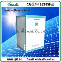 SANDI Inverters convert DC electricity