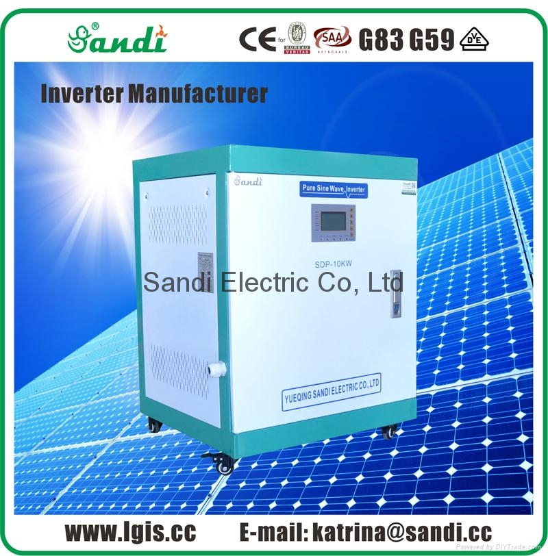 10KW sine wave solar power inverters with Australia CEC approved