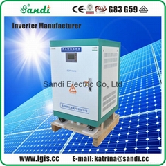 15KW multifunction solar power inverter with single phase 230VAC/50HZ