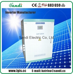50KW Inverter Three Phas