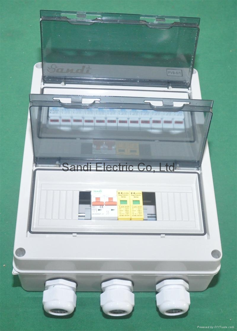 PV Powered String combiners/China solar power control box Manufacturer