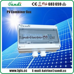 OEM Supply solar junction combiner box with lightning protection