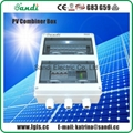 PV Solar Combiner box with lightning