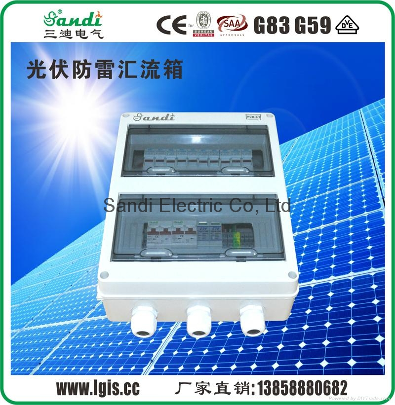 Junction Boxes for solar application/ Combiner Box for solar projects