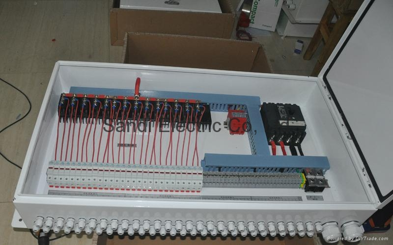 Solar string boxes, pv combiner box, pv junction box
