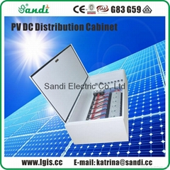 PV DC Power Distribution Combiner Box Cabinet