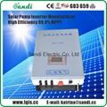 3700W solar pump controller with MPPT +VFD technology