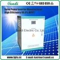 DC to AC solar pumping inverter for