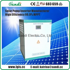 37KW PV Solar pumping inverter for AC Water Pump use