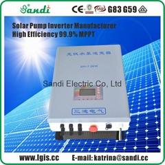 7500W太陽能泵水逆變器MPPT功率跟蹤-VFD變頻啟動控制