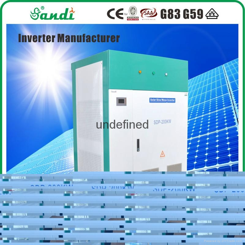 SANDI off grid inverter 3 phase 200kw solar off grid inverter