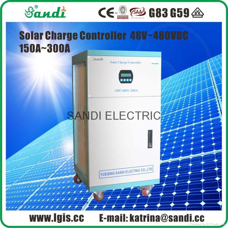 540V150A PWM太阳能充电控制器