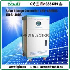 540V150A 200A 250A 300A PWM太陽能充電控制器