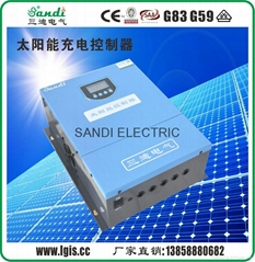 Solar battery charger 216V 150A