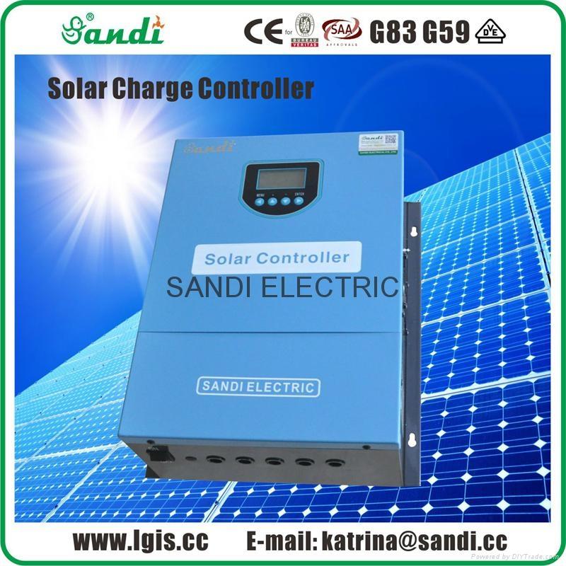 300V-100A太阳能智能充电控制器