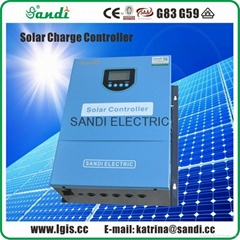 300V-100A solar intelligent controller with LCD display