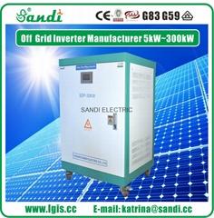 光伏发电离网逆变器内置工频隔离变压器 耐冲击性强可带电动机