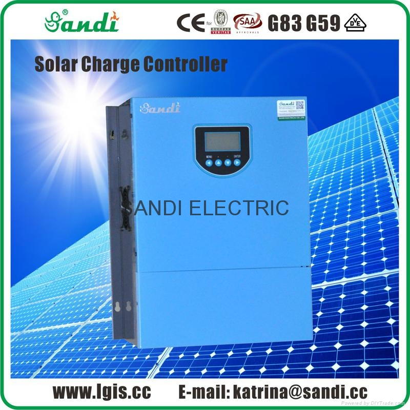 SANDI solar power regulator with LCD