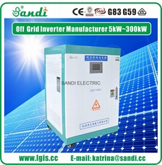 三迪单相220V/三相380V 15KW太阳能离网逆变器