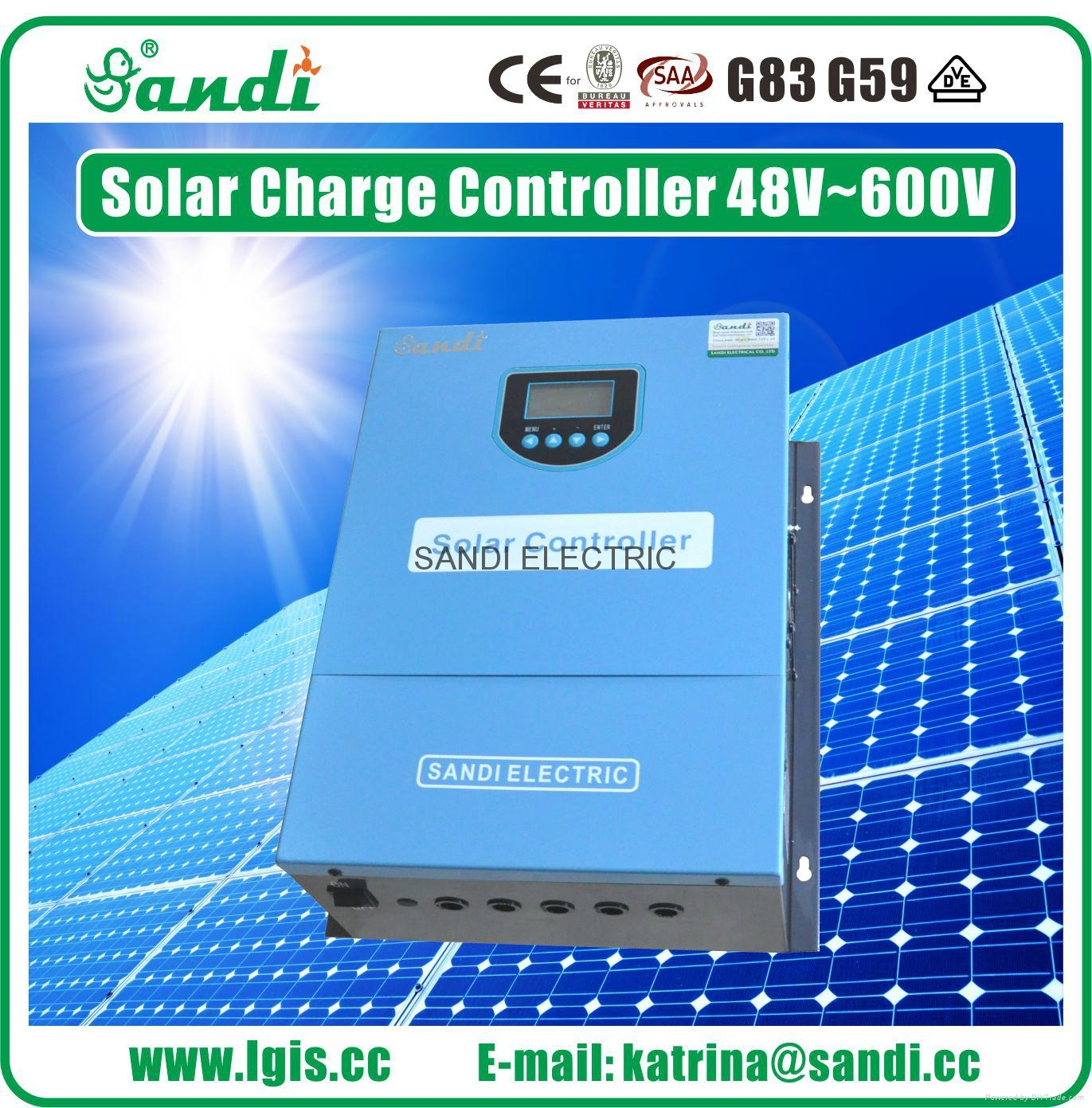 400V 100A solar renewable energy storage battery charge controller