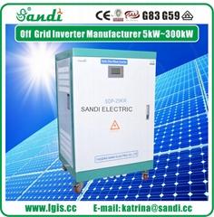 2 phase 120/240VAC 25KW split phase inverter