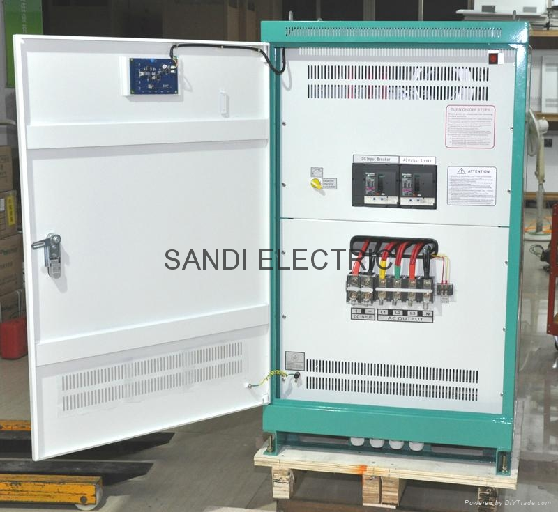 solar off grid inverter with wide voltage 400-850VDC for system without battery