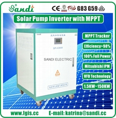 63KW solar pump inverter for irrigation system