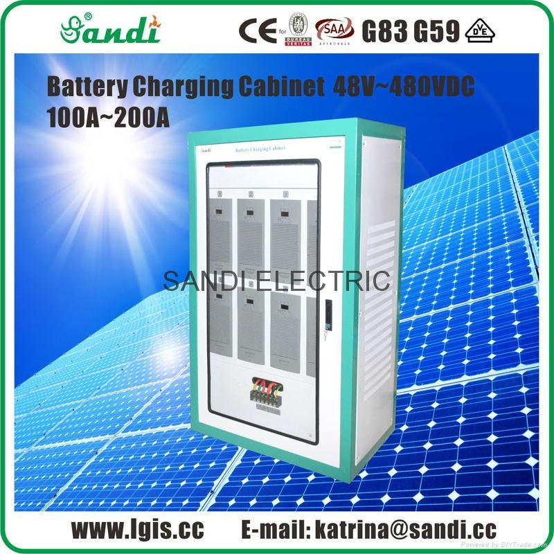 high frequency Switching Power Supply Cabinet AC380V to DC480V