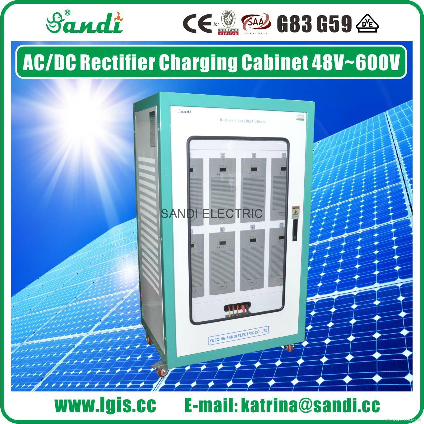 AC/DC Battery Charging Cabinet