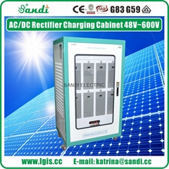 intelligent dc rectifier power system storage battery solar system