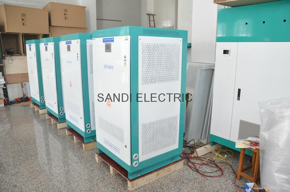 SANDI 3 phase 50kw off grid solar inverter