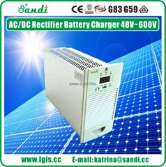 Natural Cooling Input 380VAC 3 Phase Output 220VDC/20A Rectifier Power Charger