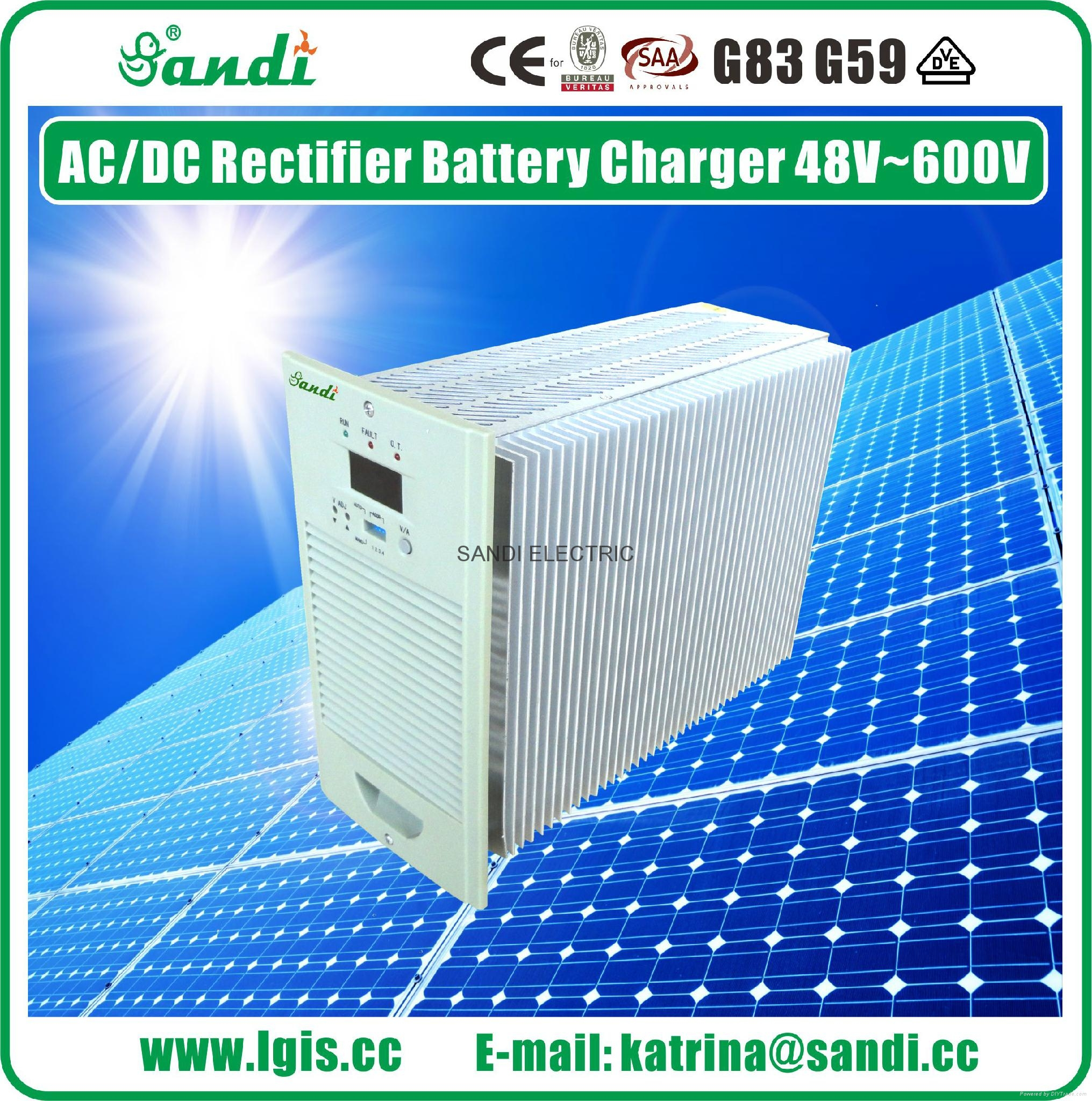 Battery Charging Rectifier DC power system