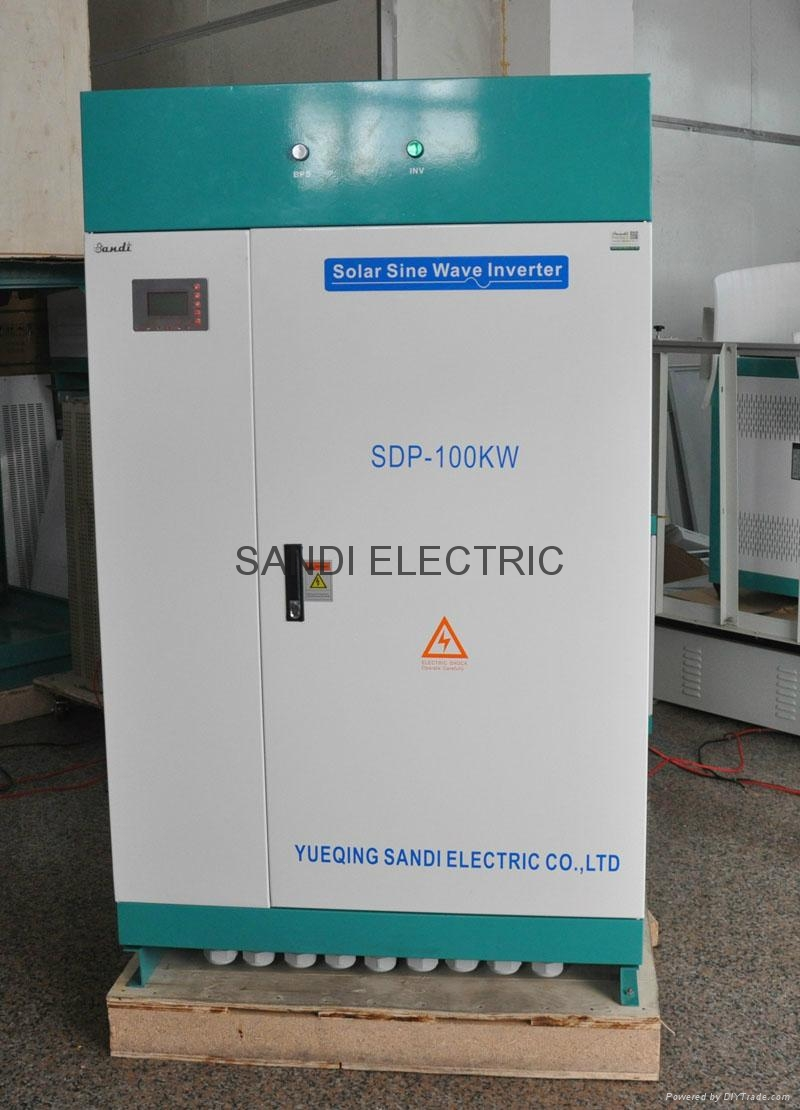 100kw solar power inverter with full power output
