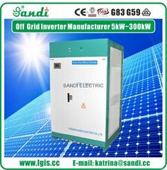 100KW off grid solar pow