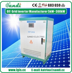 25KW solar power inverter dc to ac power inverter