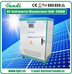 25KW太阳能离网逆变器DC/AC