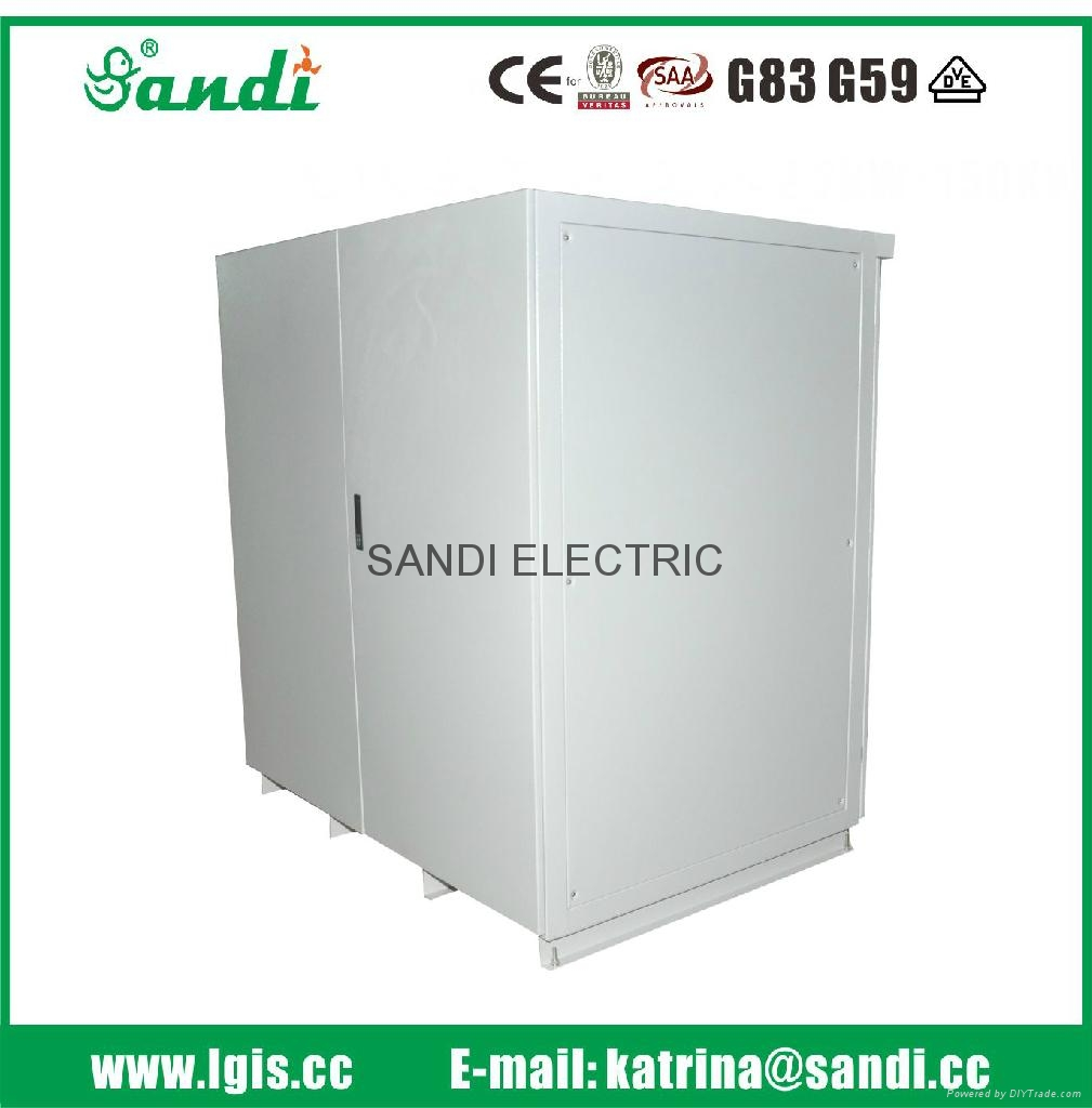 Battery cabinet + air conditioner customized outdoor telecom battery cabinet