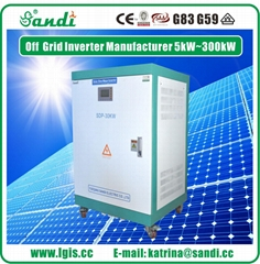 厂家直销30KW光伏离网逆变器(逆变优先/市电优先)带市电互补功能